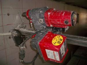 鉄筋センサー付き自動送り機
