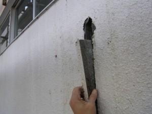 耐震スリット工事