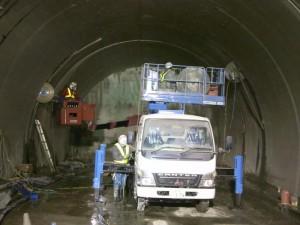 トンネル解体